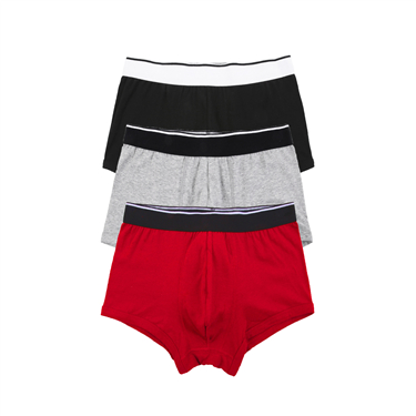 Solid seamless trunks (3-packs)