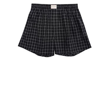 Plaid cotton boxers (1pc/pack)