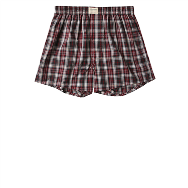 Plaid cotton boxers (1pc/pack)