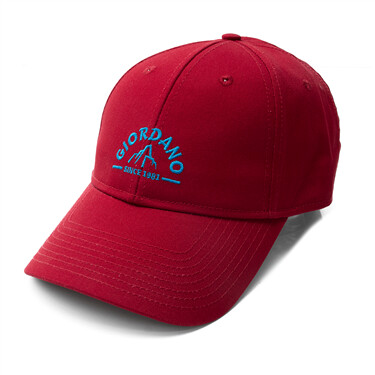 Letter embroidery cap