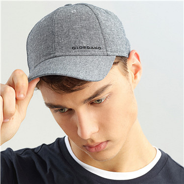Solid letter embroidery cap