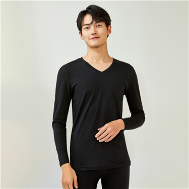 G-Warmer V-neck  thermal stretchy tee