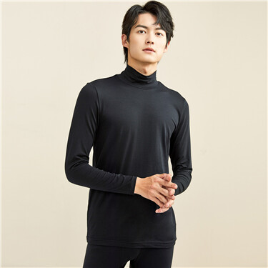 G-Warmer turtleneck thermal stretchy tee