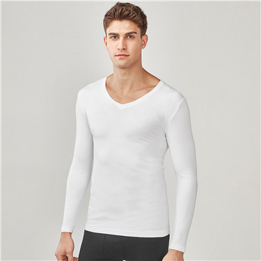 G-Warmer V neck stretchy long sleeve undershirt