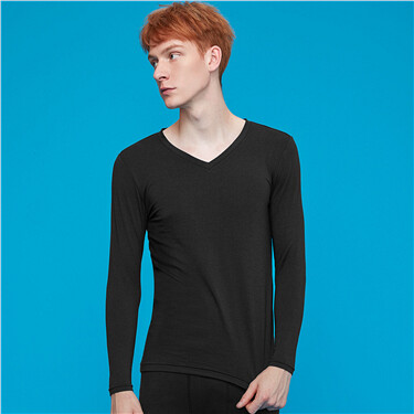 G-Warmer v-neck solid t-shirt