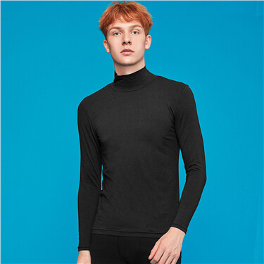 G-Warmer turtleneck solid t-shirt