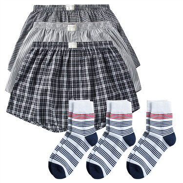 VON  jacquard socks