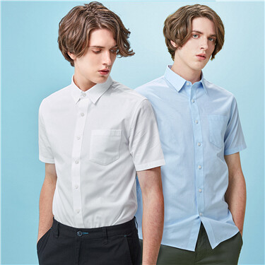 2-pack short-sleeve pocket shirts