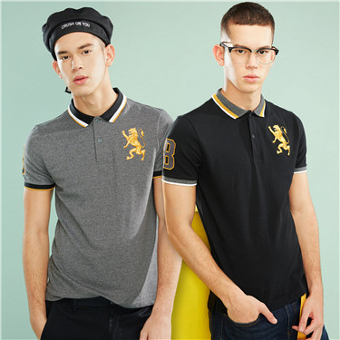 2-pack embroidered polo shirt