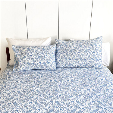 100% Antimicrobial Cotton Fitted Sheet (Double)