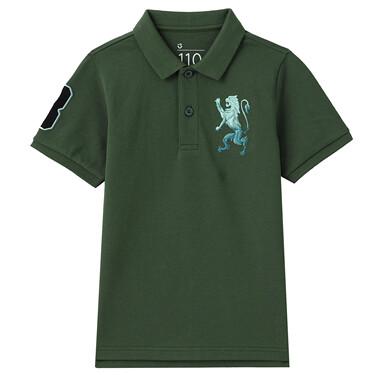 Junior Cotton Lycra Pique Short Sleeve Polo