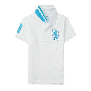 Junior3DLionMulti-colorembroiderypolo