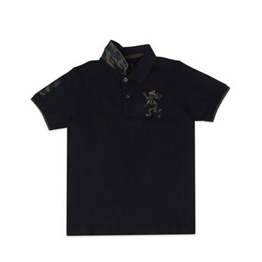 Junior Military Multi-Color Embroidery Polo