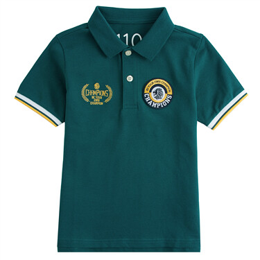 Junior Embroidery Short Sleeve Polo Shirts