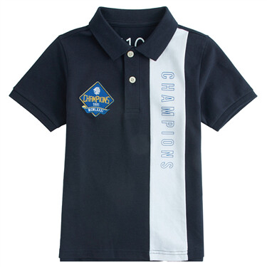 Junior Embroidery Short Sleeve