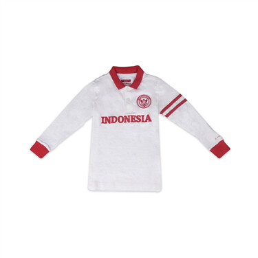 Junior National Day Long Sleeve Polo