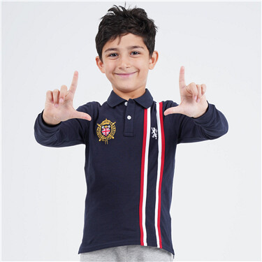 Boys victory lion long sleeve