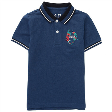 Junior Adventure Series Embroidery Polo