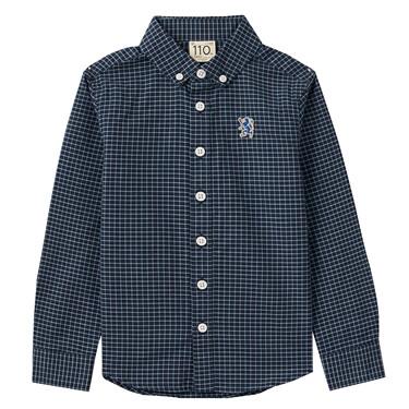 Junior Cotton Oxford Long Sleeve Shirt