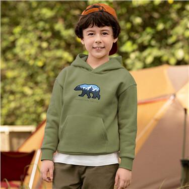 Junior Cotton/Polyester Adventure Hoodie