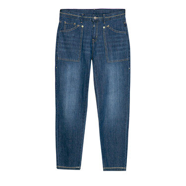 Junior Cotton Denim Mid Rise Slim Fit Jeans
