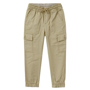 Junior Cotton Twill Mid Rise Regular Cargo Pants