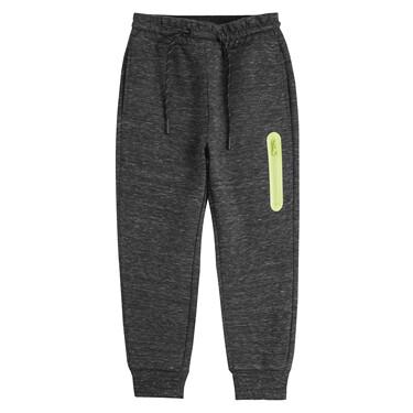Juniors Zip Elastic Waistband Jogger Pants