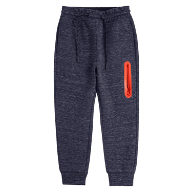Juniors Zip Elastic Waistband Jogger Pants