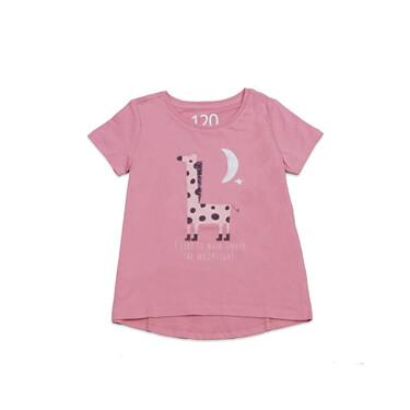 童裝純棉手繪塗鴉印花T恤