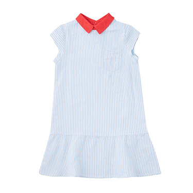 Junior linen cotton dress