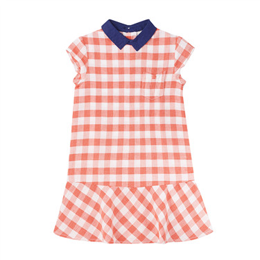 Junior linen cotton dress