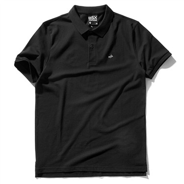 VON stretchy printed short-sleeve polo