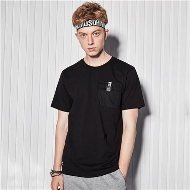 Pocket short sleeves tee
