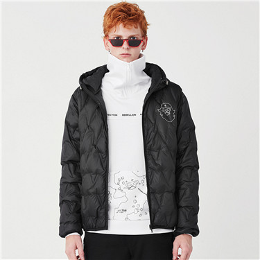 VON hooded light down jackets
