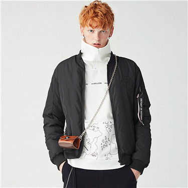 VON embroidery lightweight down jackets