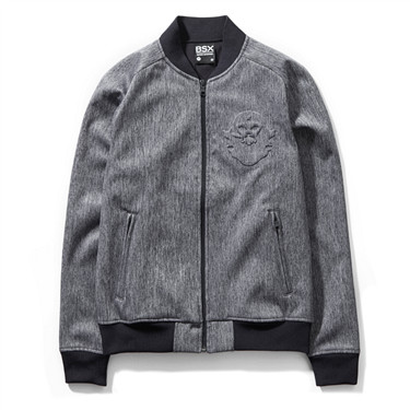 VON embossed fleece baseball jackets