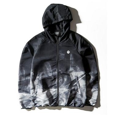 VON hooded windbreaker