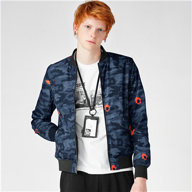 VON printed pattern jacket