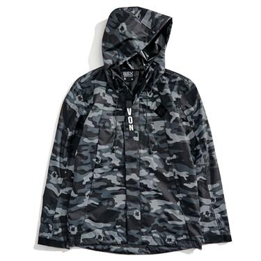 VON letter patch jacket