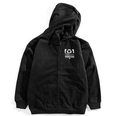 2 in 1 VON graphic hooded jacket