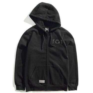VON polar fleece-lined hooded jacket