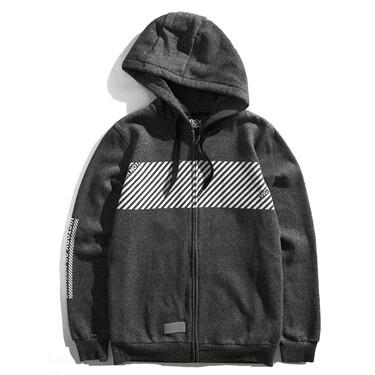 VON polar fleece-lined hooded jacket