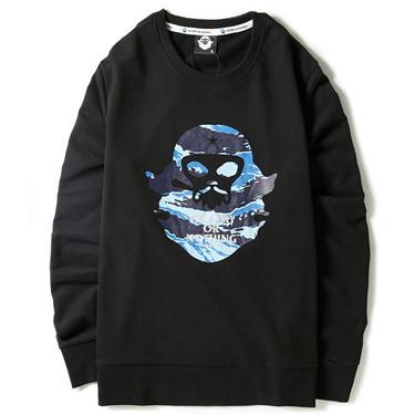 d3aa3c4d06f4 Quick View. VON Printed pattern fleeced-lining hoodie