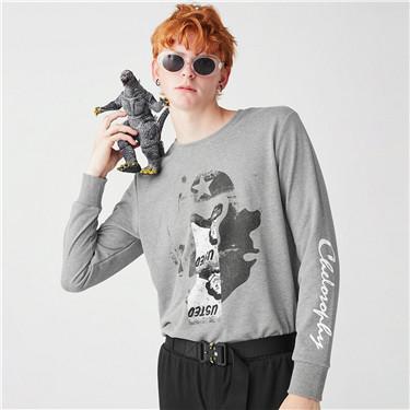 VON printed pullover