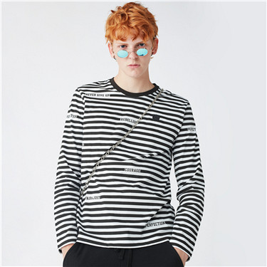 VON striped tee