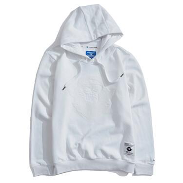 BSX fleece-lined VON embroidery hoodie