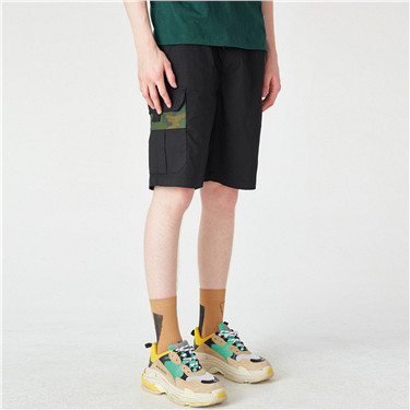 VON printed casual cargo shorts