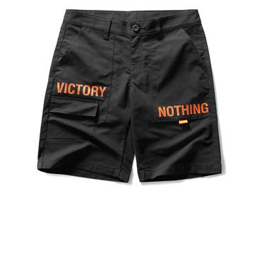 VON printed casual cargo shorts