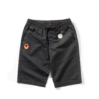 VON printed elastic waist drawstring casual shorts