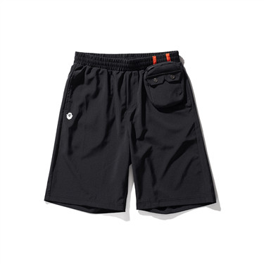 VON detachable pocket printed shorts